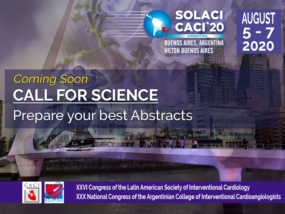 Call For Science Coming Soon - SOLACI-CACI 2020
