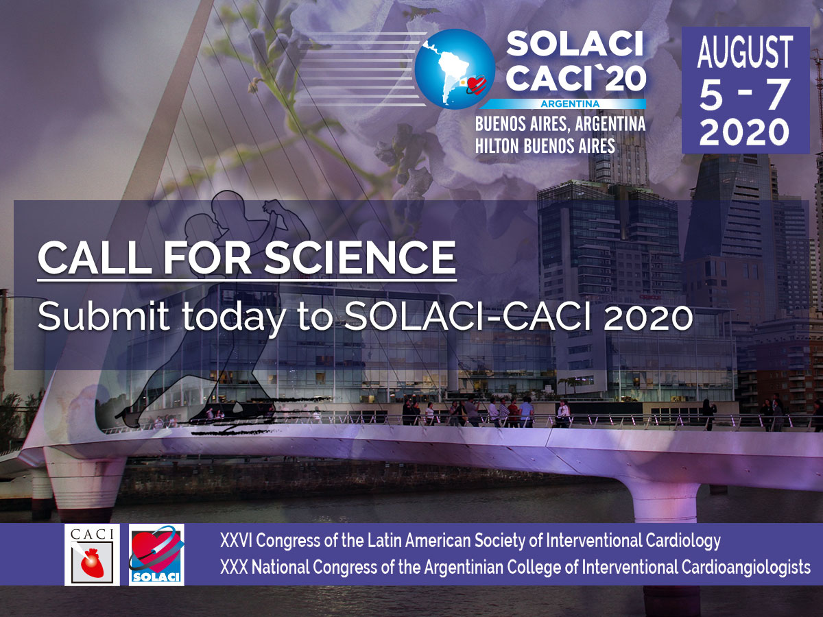 Call For Science - SOLACI-CACI 2020